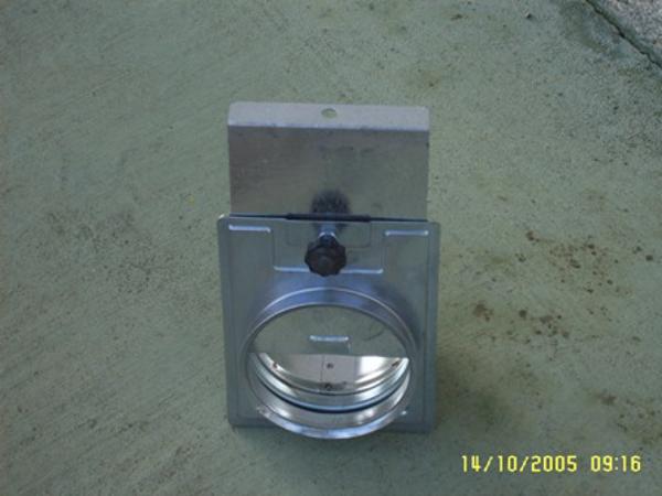 Picture of Guillottine shutter diam.250mm