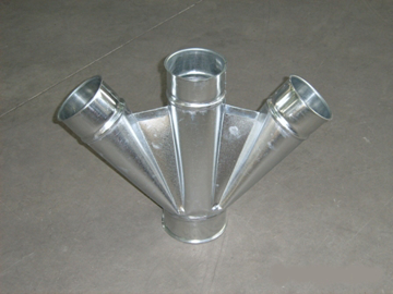 Picture of 3-way deviation diam.100mm